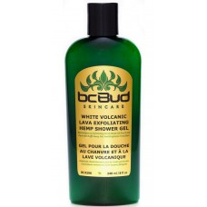 Bc Bud White Volcanic Lava Exfoliating Hemp Shower Gel