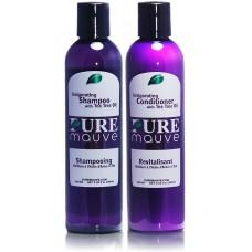 Pure Mauve Invigorating Tea Tree Shampoo and Conditioner